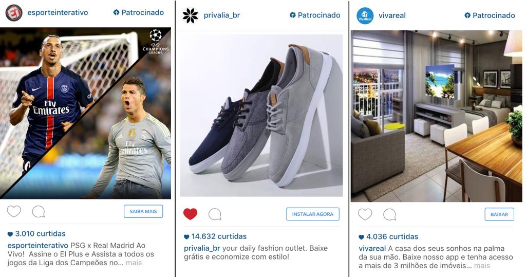 Anúncios no Instagram