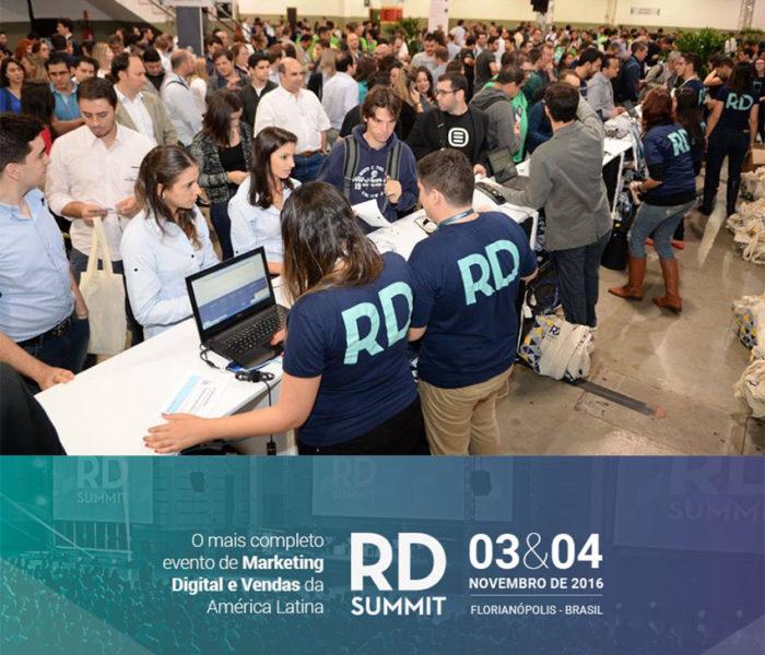 RD Summit 2016: Evento deve reunir mais de 5.000 pessoas em dois dias de imersão em marketing digital.