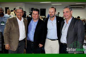 Vilmar Pinto, Cristiano Rabelo, Paulo Malgueiro e José Humberto Lôbo.