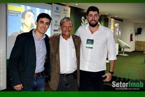 Rafael Landa, Vilmar Pinto e Eduardo Sani.