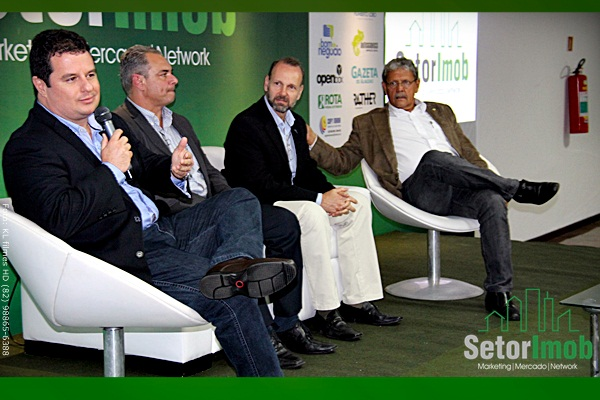 Painel sobre o mercado imobiário de Alagoas com: Presidente do Creci-AL: Vilmar Pinto Presidente da Ademi-AL: Paulo Malgueiro Diretor do Sinduscon-AL: José Humberto Lôbo