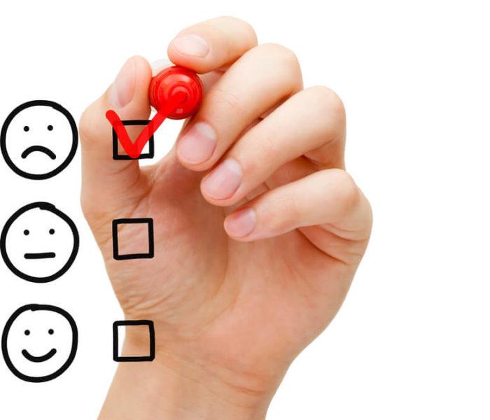 Como tocar o atendimento em caso de cliente insatisfeito?